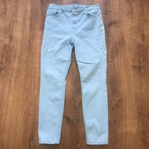 🔥 7 for all mankind pastel blue jeans sz 28